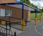 st-marys-school-canopy-post-pads