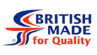 British made for quality Logo