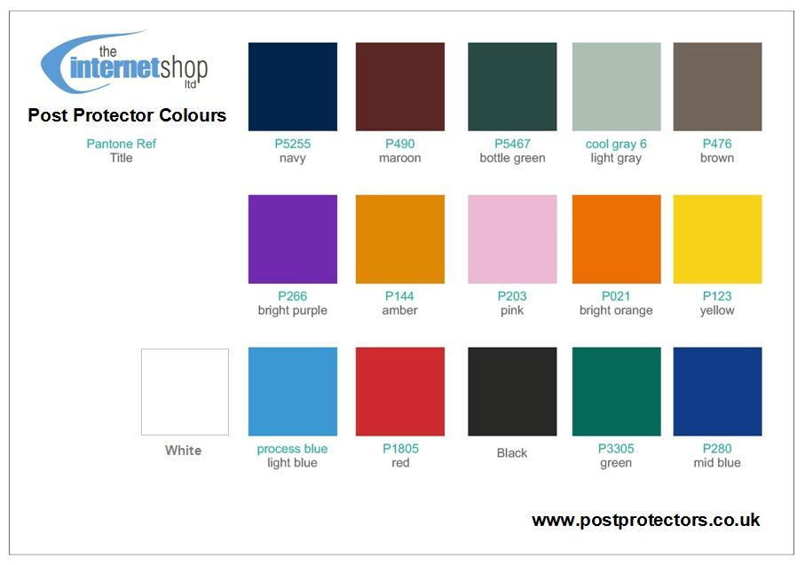 Post Protector Colours The Internet Shop Ltd