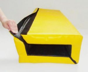 velcro-yellow-post-protector