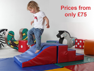 Climb and Slide padded toy